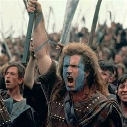 William Wallace braveheart mel gibson lol