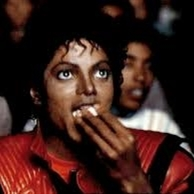 Michael Jackson Popcorn eating