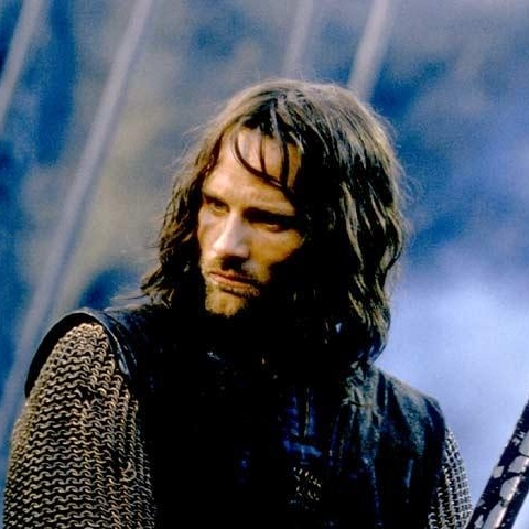 Not this day Aragorn