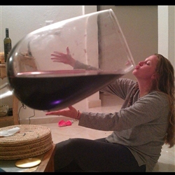 Big wine glass