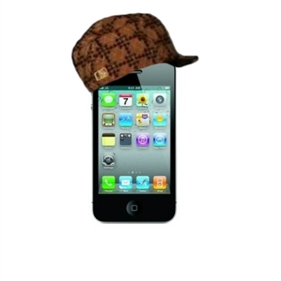 Scumbag iPhone 4