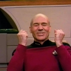 Jean Luc Picard Full of Win - No Text