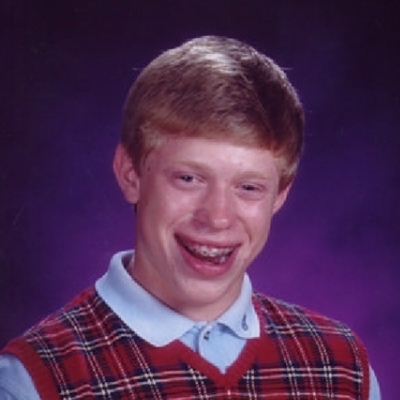 BACK LUCK BRIAN