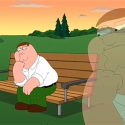 Pensive Peter Griffin