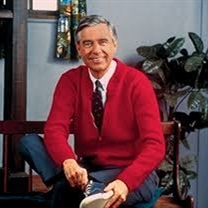 MR ROGERS HAPPY SWEATER