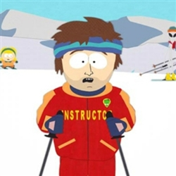 Bad time ski instructor 1