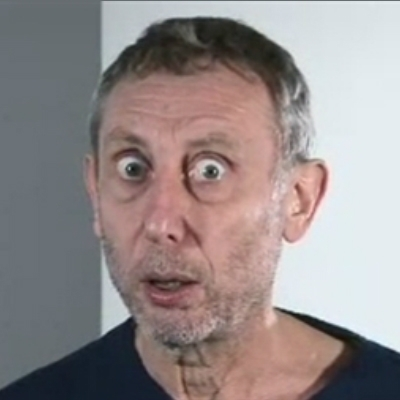 Michael Rosen stares into your soul