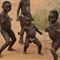 african children dancing