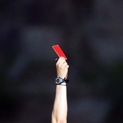 red card asshole