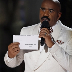 Steve Harvey Miss Universe meme