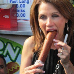 Michelle Bachmann Corn Dog