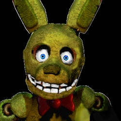 Golden Bonnie five nights at freddy's 3