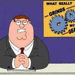 Grinds My Gears Peter Griffin