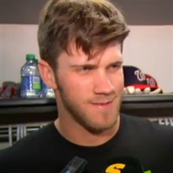bryce harper clown question