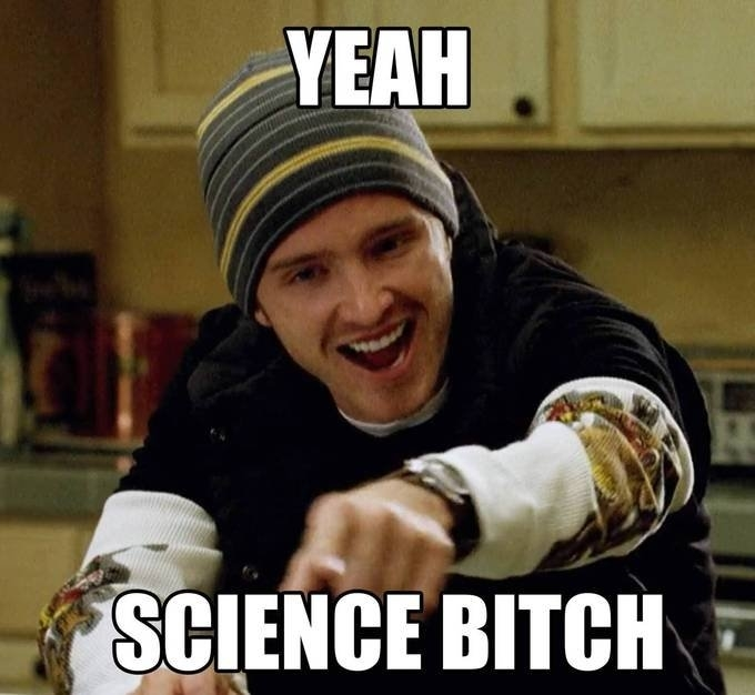 jesse pinkman science