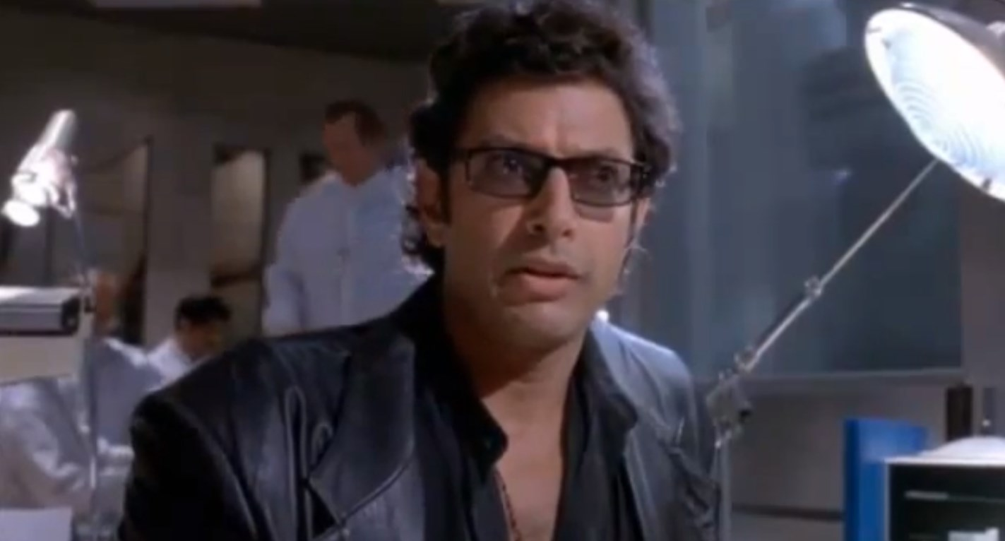 Jeff Goldblum Life Finds a Way