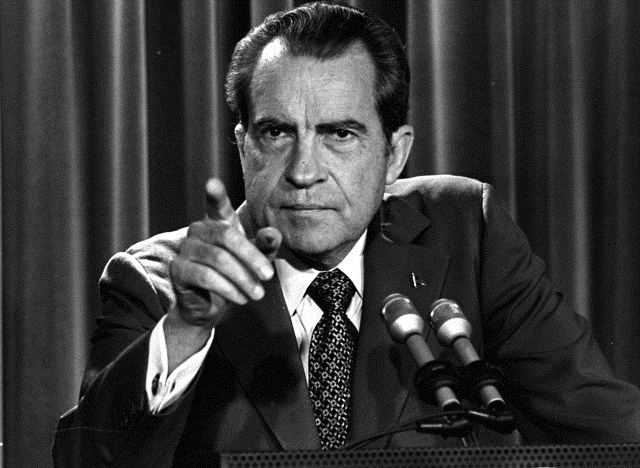 Hey, Richard Nixon!