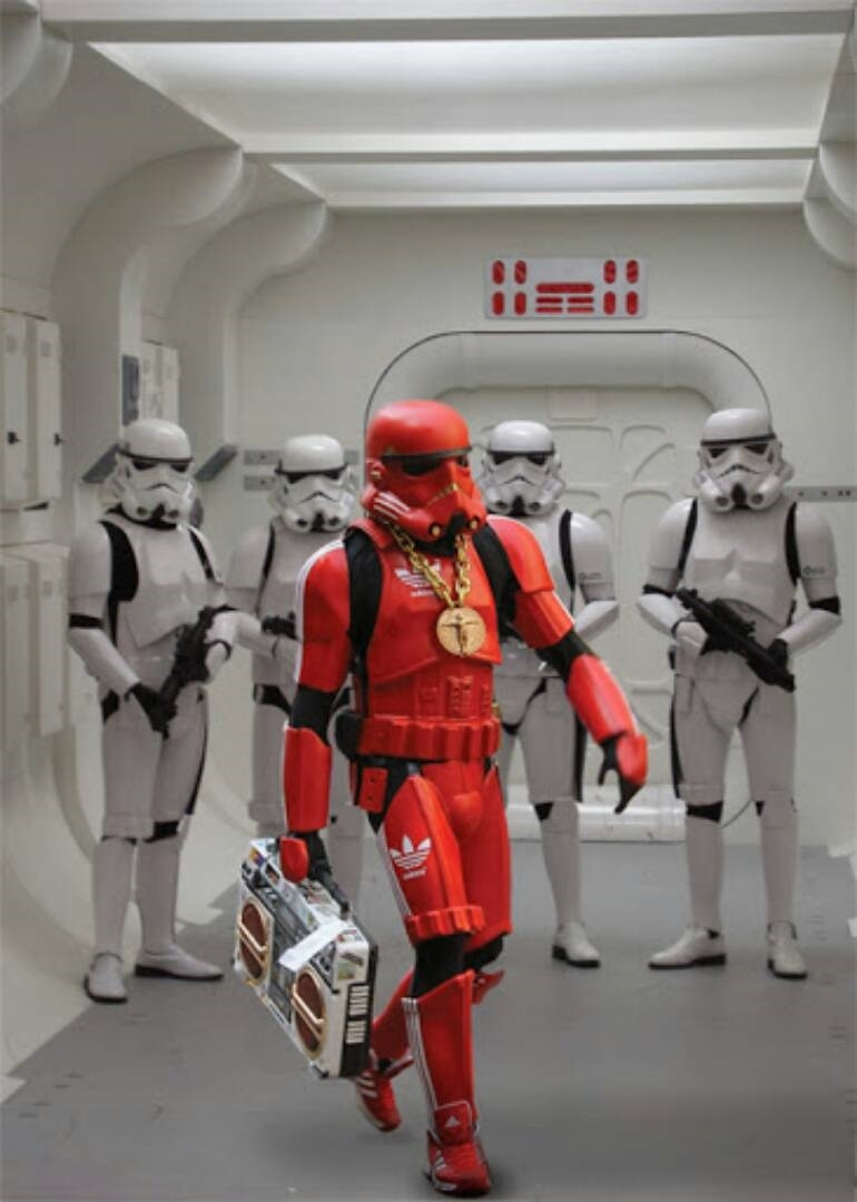 haters gonna hate stormtrooper