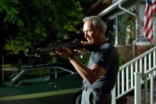 Clint Eastwood Get Off My Lawn