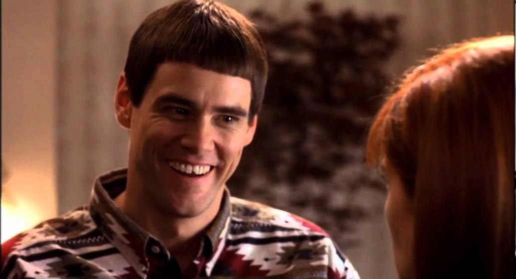 LLOYD CHRISTMAS There's a chance?