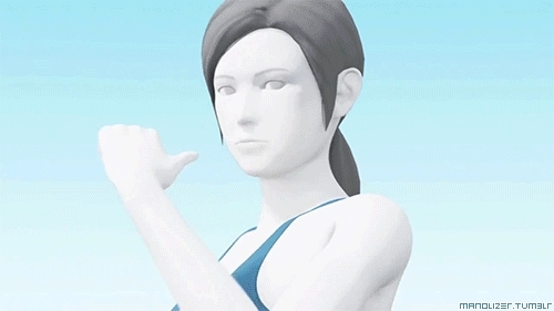 Wii Fit Trainer is in the new Smash Bros? She's scary...