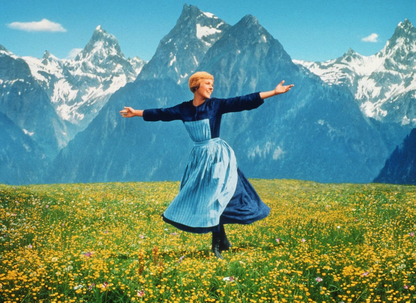 Julie Andrews Sound of Music meme football