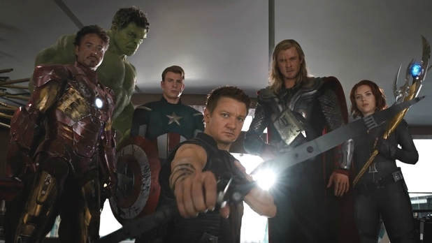 Really Pissed-off Avengers