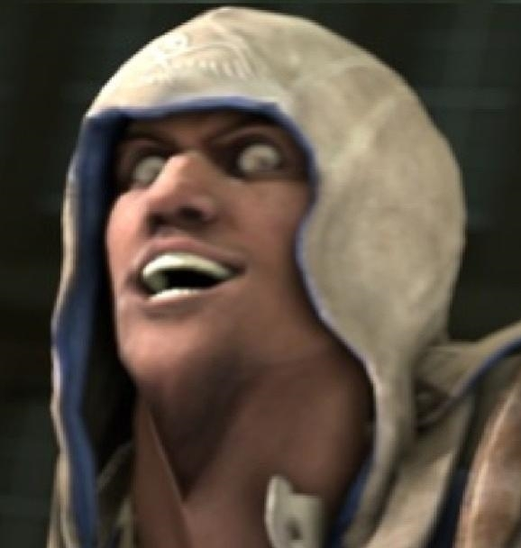 Assassin'S Creed 3 rage face Connor Kenway