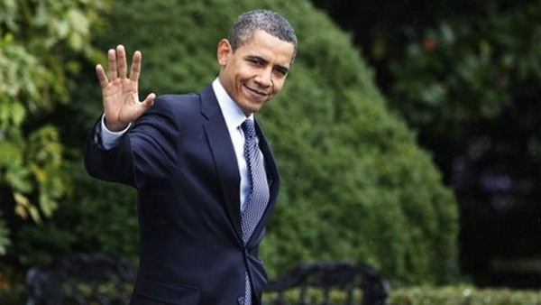 Obama Waving Goodbye