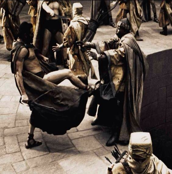 This is Sparta kick
