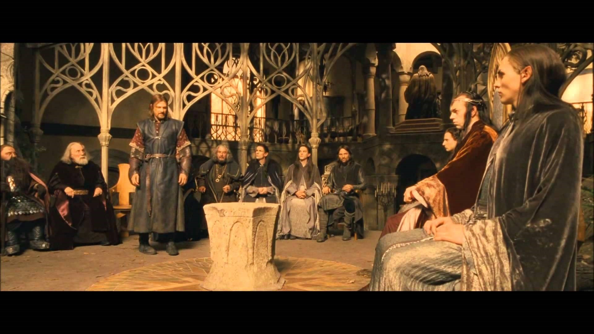 Council Lord of the Rings