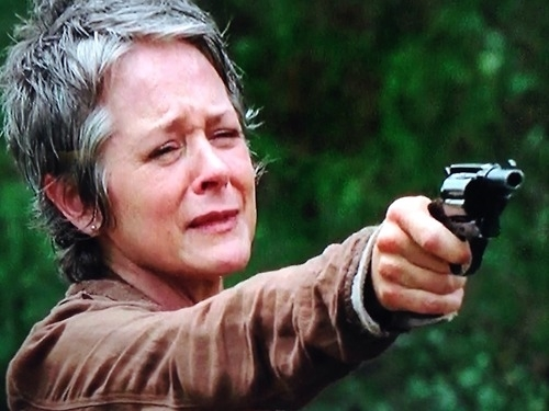 CAROL TWD  LOOK AT THE FLOWERS