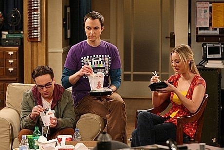 big bang theory food