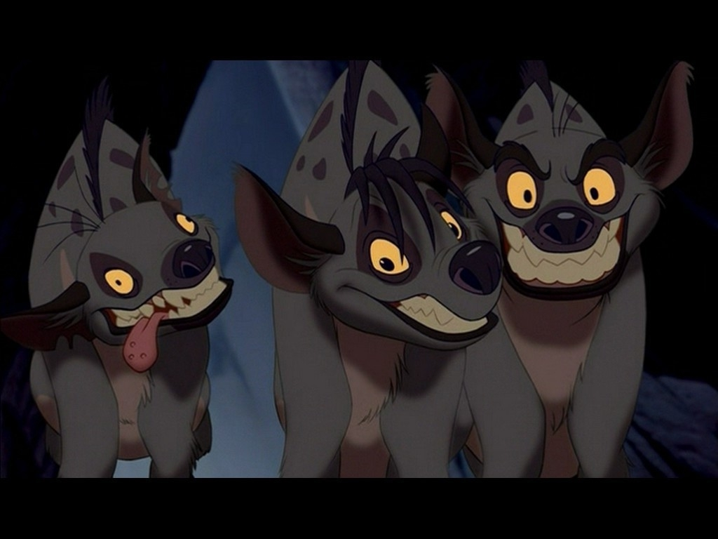 Three Hyenas from Lion King