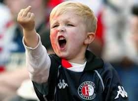 Sports Kid Middle Finger