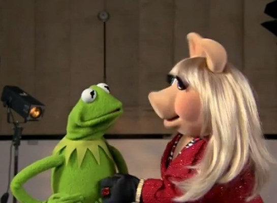 kermit the frog and ms.piggy