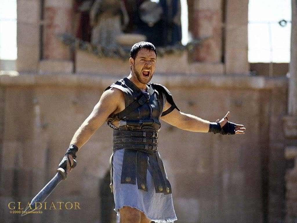 gladiator film trailer essay