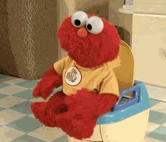 Pooping elmo