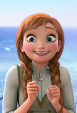 Excited Anna Frozen Meme Generator