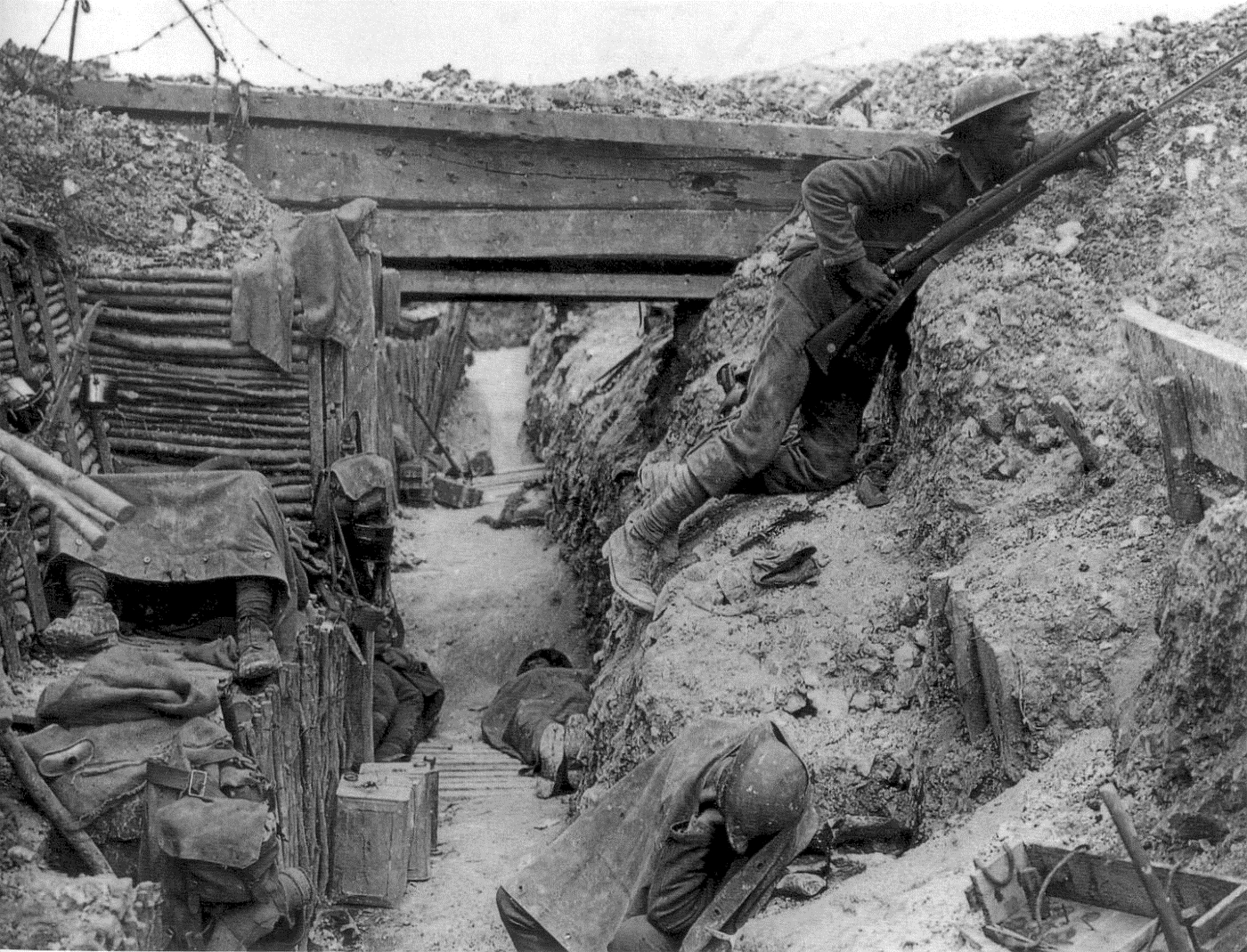 trench warfare in ww1 research paper Life in the trenches - research and evaluation of the daily routines in the trench 6 boy soldiers world war one was named the great war as it was thought to.