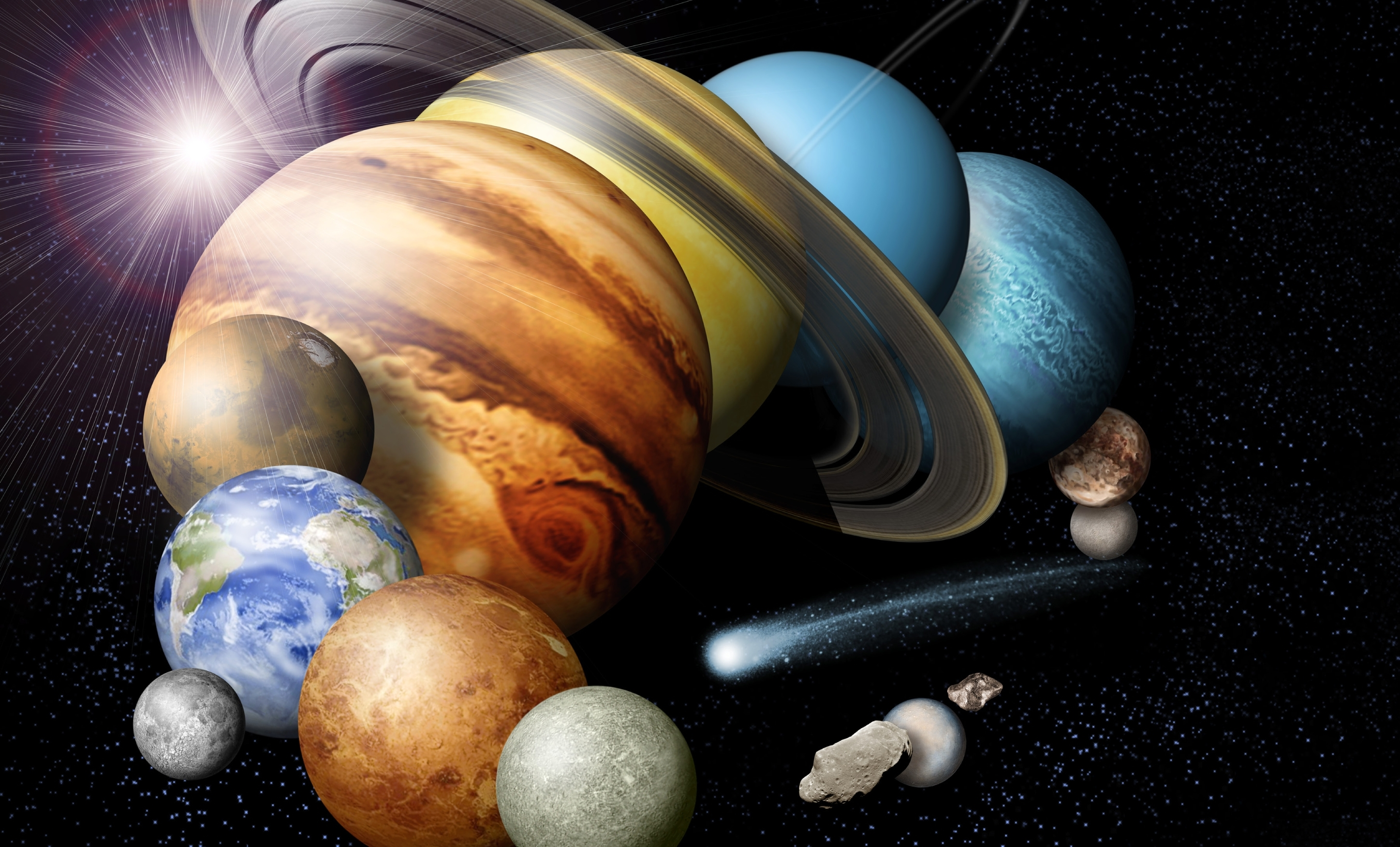 planets and solar system - HD2895×1752