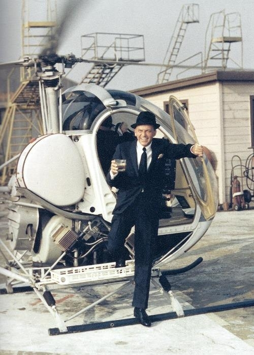 Frank Sinatra Helicopter Cool
