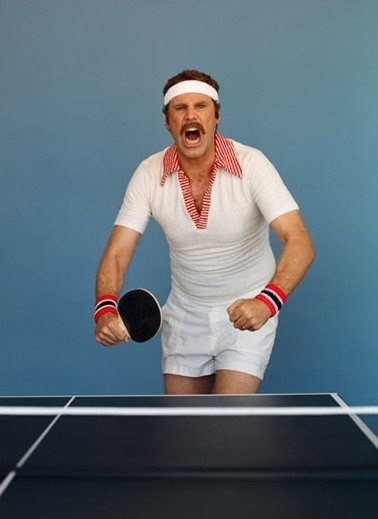 Ping Pong Will Ferrell