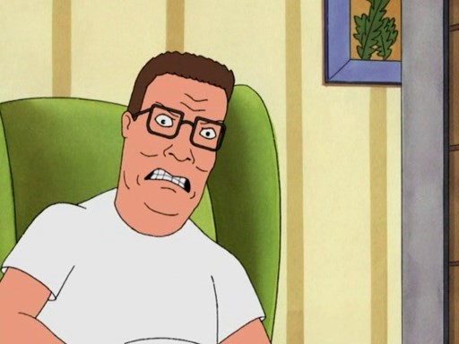 Angry Hank Hill