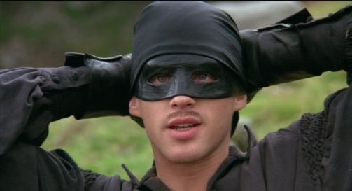 "Wesley Princess Bride ""Anyone who tells you differently is seeling something"""