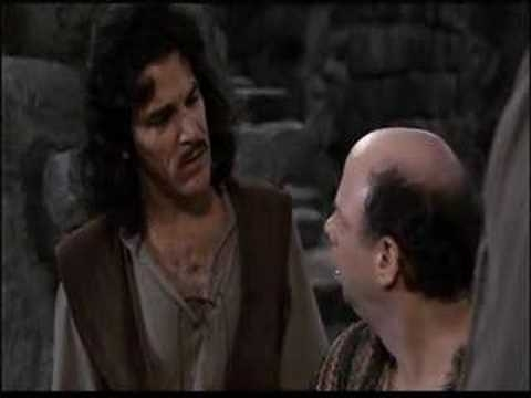 Inigo Montoya word doesn't mean
