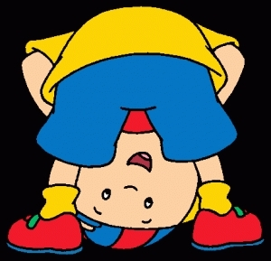 Caillou-Down-Under