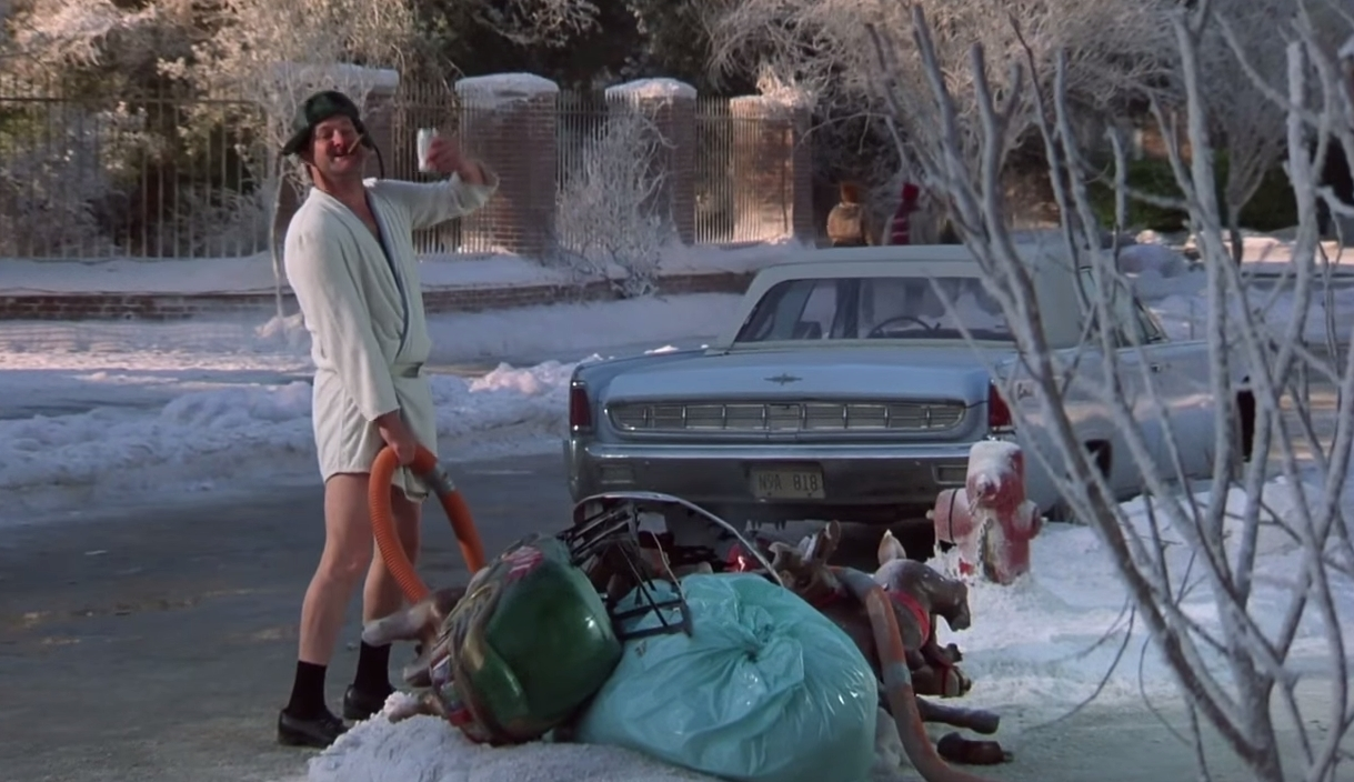 Cousin Eddie Lampoons Christmas Vacation