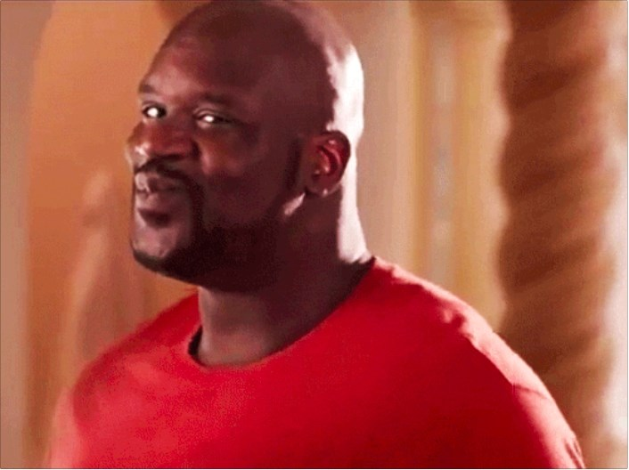 Shaquille Oneal Happy Face Meme Generator