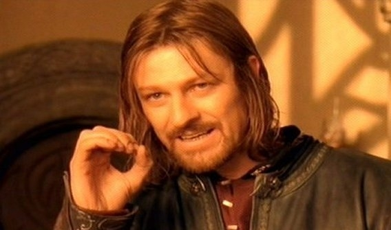 One does not simpl